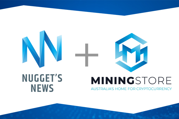Nugget's News Logo and MiningStore Australia Logo